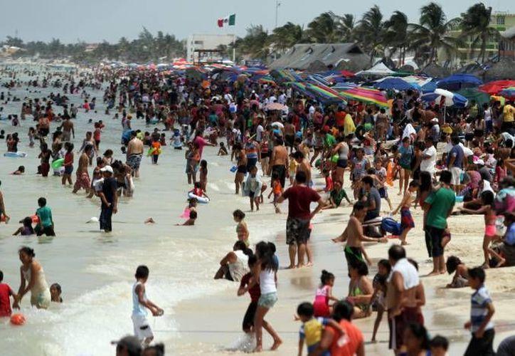 La costa yucateca tendrá prioridad para el Gobierno de Yucatán en cuanto a seguridad en caso de que algún huracán llegue a impactar la entidad. (Foto de archivo de Milenio Novedades)