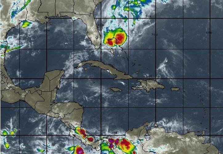 La temperatura mínima oscilará en los 25 grados centígrados en Cancún. (Intellicast)