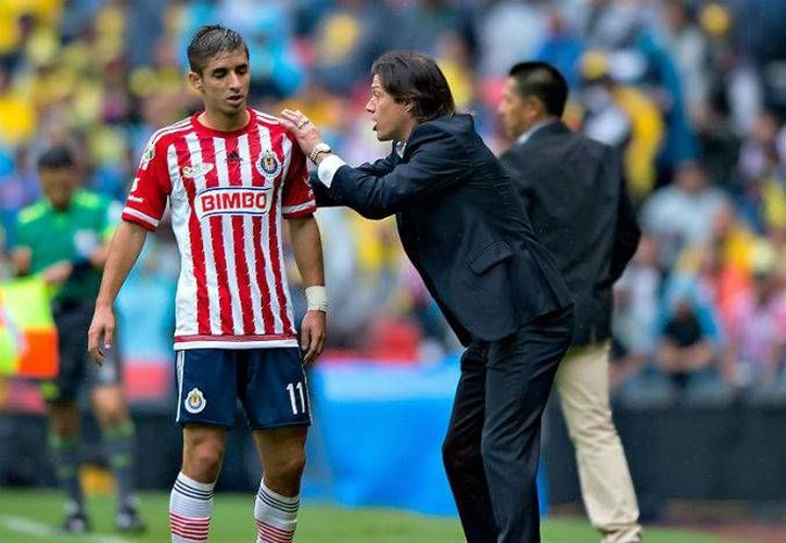 El técnico de las Chivas, Matías Almeyda, no ha tenido un buen Clausura 2016 ya que aún no logra una victoria en siete jornadas. (Archivo Mexsport)