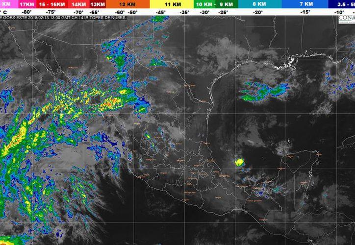 Los vientos serán de 15 a 30 kilómetros por hora en Chetumal. (Conagua)
