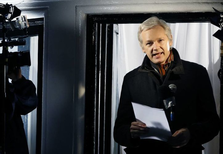 El fundador de Wikileaks, Julian Assange, pidió asilo político en la embajada ecuatoriana en 2012. (Agencias)
