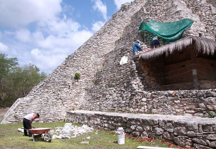 La influencia de aztecas y toltecas se ha observado en diferentes zonas de la entidad, y Mayapán no fue ajeno, pues se observa en el intercambio de productos e incluso de piezas que eran utilizadas para sus actividades u ofrendas. (Jorge Acosta/Milenio Novedades)