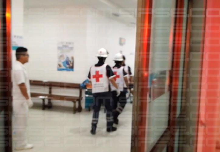 Los sujetos se encontraban en un bar 'clandestino' de esa zona. (Foto: Redacción/SIPSE).