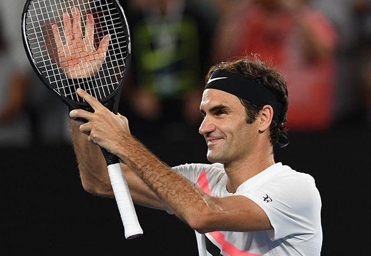 Roger Federer se medirá en la final con el surcoreano Hyeon Chung. (Fox Sports)