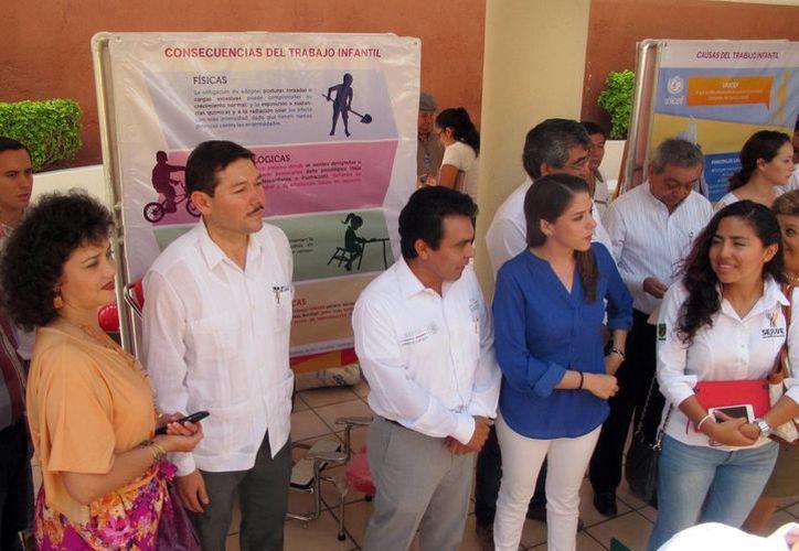 Enrique Castillo Ruz dijo que fortalecen las capacidades productivas de las familias con menores que trabajan. (Milenio Novedades)