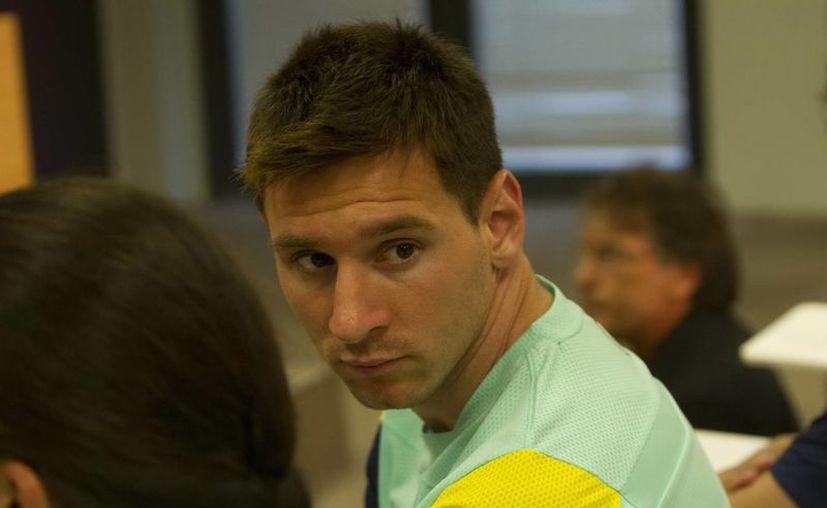 """Messi confesó que le molesta que """"ciertos medios salgan a decir mentiras sobre cualquier situación que sucede conmigo"""". (Archivo Notimex)"""