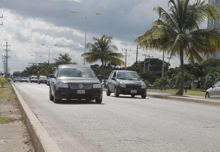 Indican que el 80% de los percances son provocados por el conductor. (Hugo Zúñiga/SIPSE)