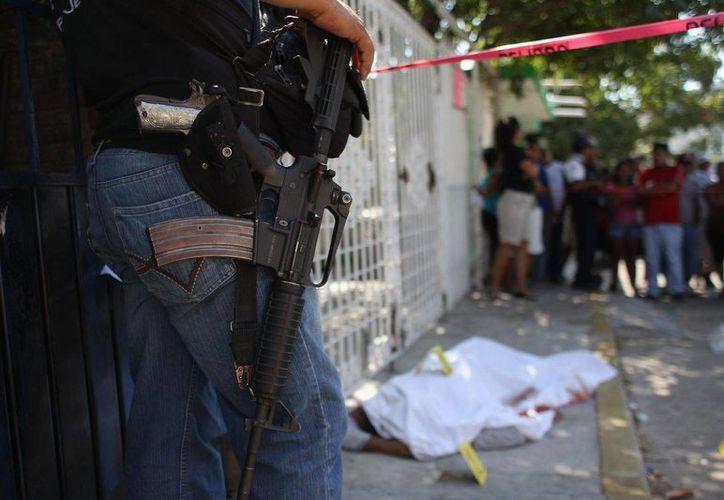 Este año ha sido marcado por el aumento de los asesinatos vinculados con la delincuencia organizada. (vivelohoy.com)