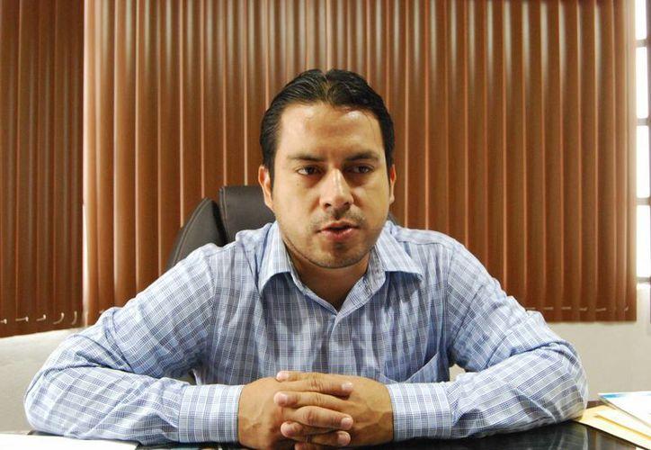 Presidente del Colegio de Contadores Públicos en Chetumal, José Maximino Muñoz Lara. (Harold Alcocer/SIPSE)
