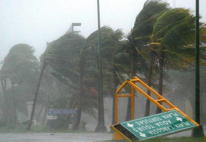"""El huracán Wilma fue el primero en la historia en recibir un nombre comenzando por la letra """"W"""" desde la denominación alfabética surgida en el año de 1950.  (Redacción/SIPSE)"""