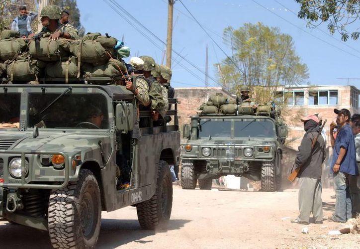 Militares mexicanos mantienen operativos en el estado de Guerrero. (Agencias)