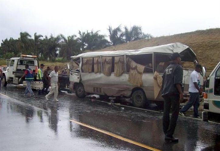 Los accidentes en carretera son frecuentes en República Dominicana, de acuerdo con datos de la Organización Mundial de la Salud. (Archivoi/listindiario.com)