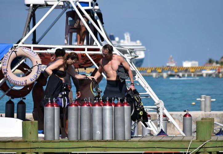 La Isla de las Golondrinas participará en el Diving Equipment & Marketing Association, que se realizará en Las Vegas Nevada. (Gustavo Villegas/SIPSE)