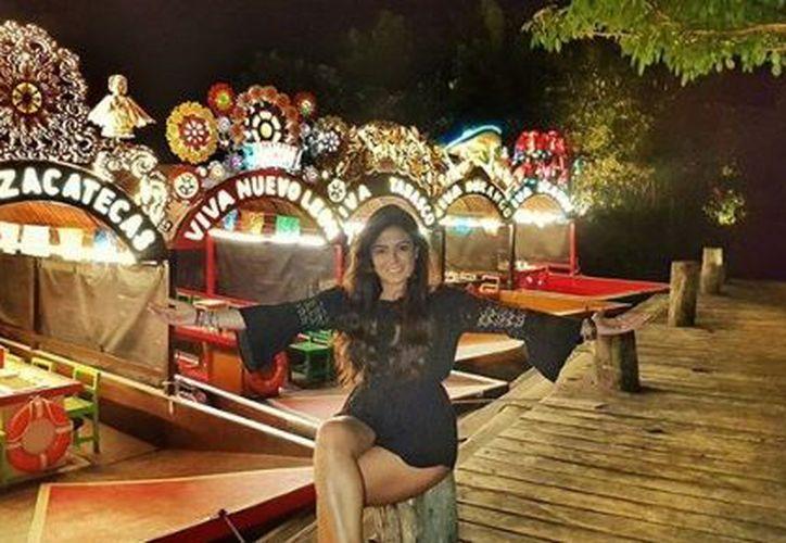 La ex conductora de Telehit compartió su estancia de Quintana Roo en sus redes sociales. (Instagram)