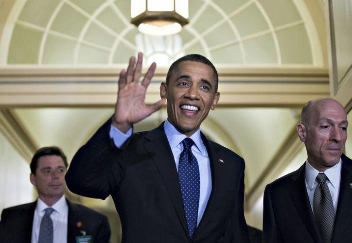 """""""Hay un aumento progresivo de ciberataques contra EU"""": Obama. (Agencias)"""