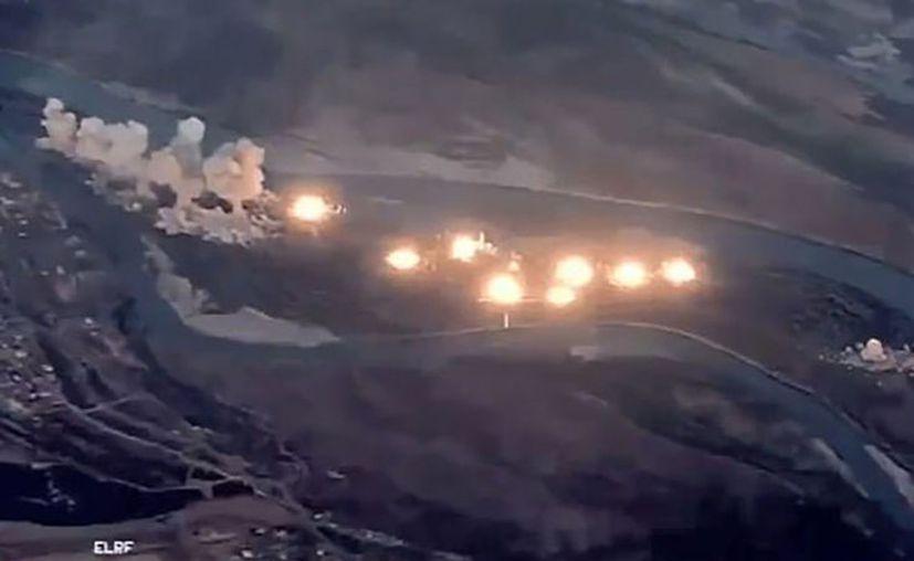 Esta acción militar se llevó a cabo en el marco de la Operación Resolución Inherente. (Foto: Captura de pantalla)