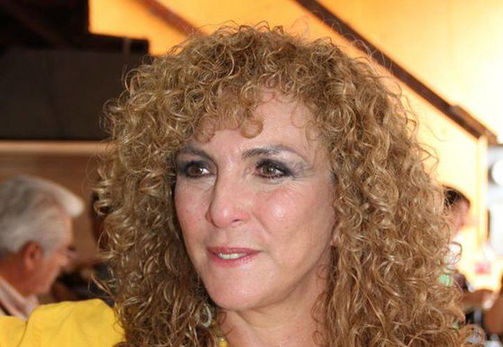 Luz María Beristáin Navarrete, militantes del sol azteca. (Tomás Álvarez/SIPSE)
