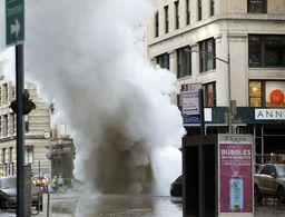 NY officials: No major public health threat from steam blast