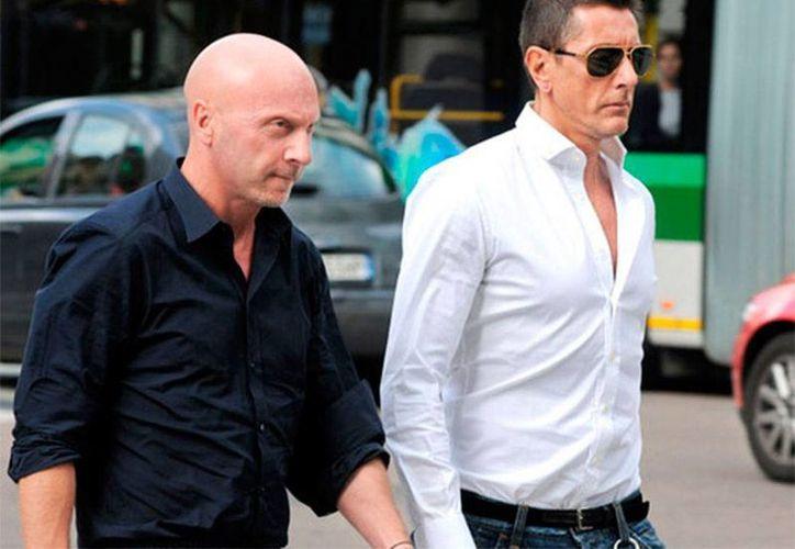 La más famosa pareja gay de la moda, Dolce & Gabbana, se declaró en contra de la adopción de hijos por parte de las parejas homosexuales. (Archivo/excelsior.com.mx)