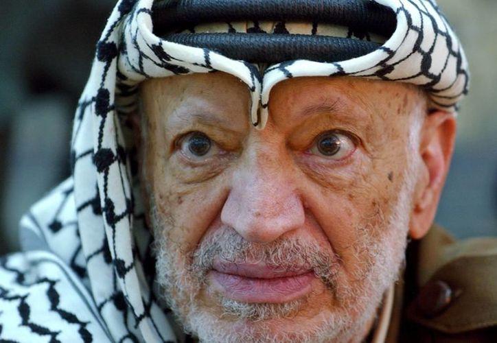Yasser Arafat murió en 2004 en Francia por un derrame cerebral. (Agencias)