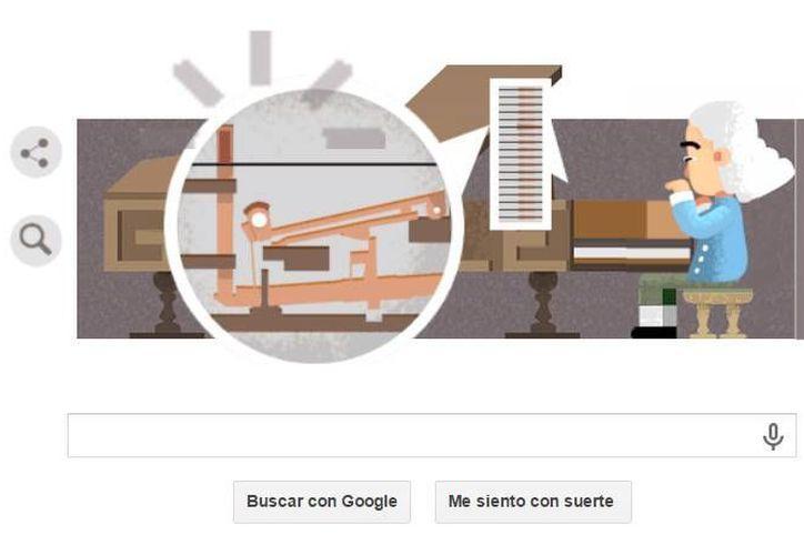 La idea de homenajear a Cristofori en un doodle fue idea del equipo de Google en Italia. (Google.com)