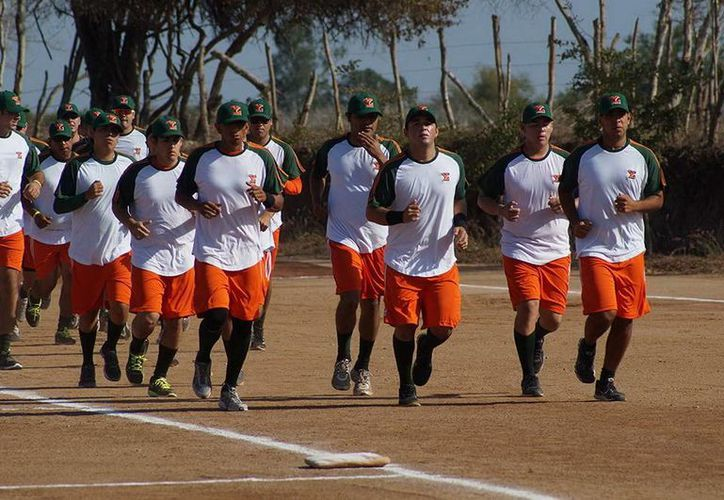 Los Leones sostuvieron ayer su segunda práctica de la pretemporada que realizan en Mazatlán. (Milenio Novedades)