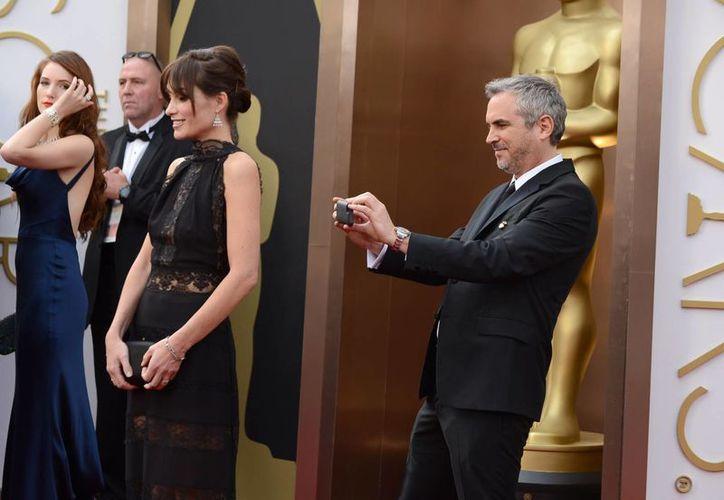 'Gravity', la película del mexicano Alfonso Cuarón, ha conquistado su primer Oscar de la noche, por mejores efectos especiales. (Agencias)