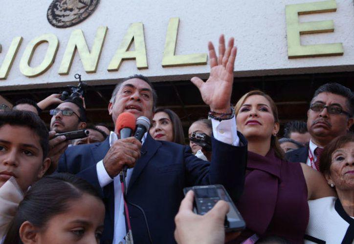 El INE recalcó que El Bronco no cumplió con la cantidad necesaria de firmas ciudadanas. (Notimex)