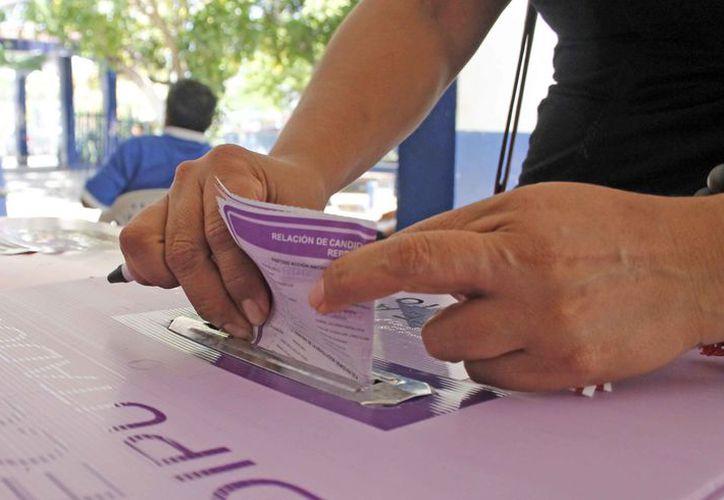 Invitan a los ciudadanos a salir a votar el próximo 1 de julio. (Jesús Tijerina/SIPSE)