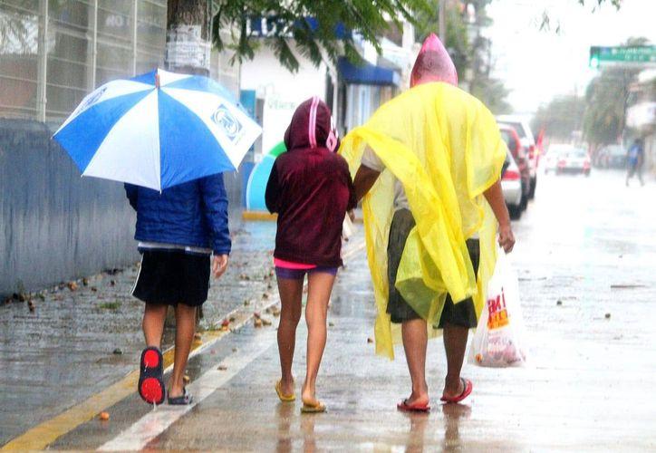 En Lázaro Cárdenas se trasladaron cuatro familias afectadas por las lluvias. (Redacción)