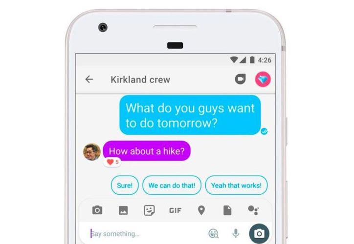 Google parece que va a centrar sus esfuerzos en Hangouts Chat y Meet. (Foto: Contexto/Internet)