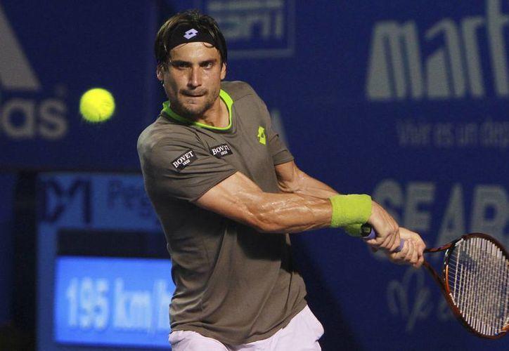 El tenista David Ferrer llegó a México tras dos sólidos torneos en la gira latinoamericana, donde se coronó en Buenos Aires y fue semifinalista en Río de Janeiro. (Agencias)
