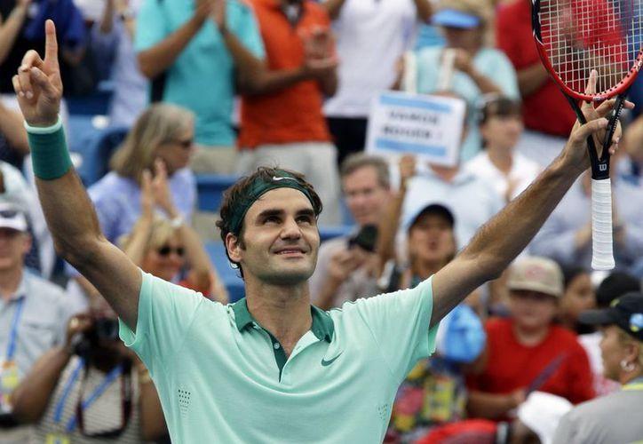 Con el triunfo en Cincinnati, Federer se coloca en el tercer lugar del ranking ATP, solo detrás de Novak Djokovic y Rafael Nadal. (AP)
