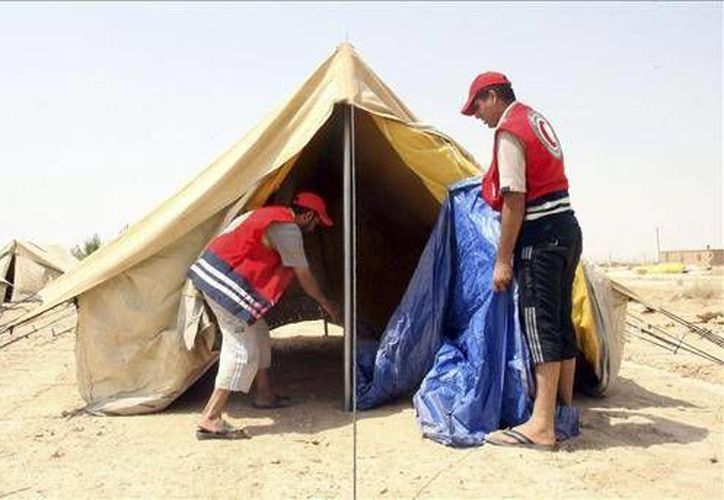 Los médicos sirios y extranjeros fueron secuestrados cuando se desplazaban por carretera hacia Idleb. (EFE)
