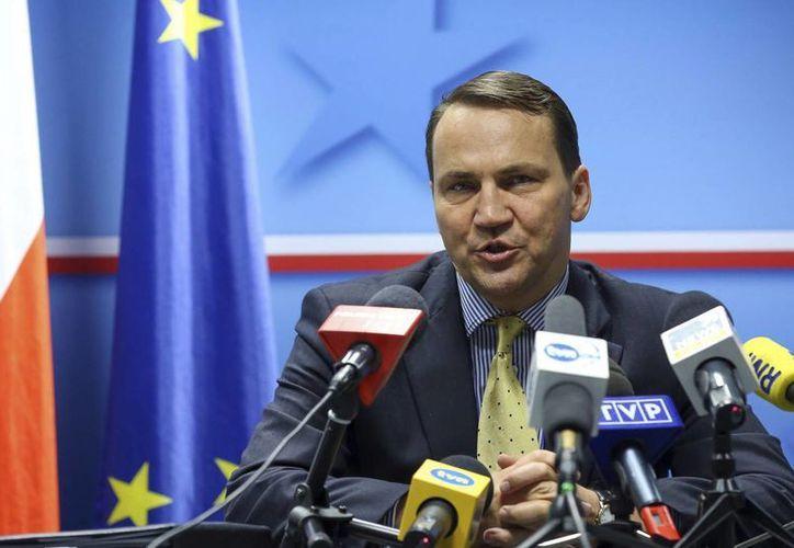 El ministro de Asuntos Exteriores de Polonia, Radoslaw Sikorski, anunció la decisión por medio de su cuenta de Twitter. (Archivo/EFE)