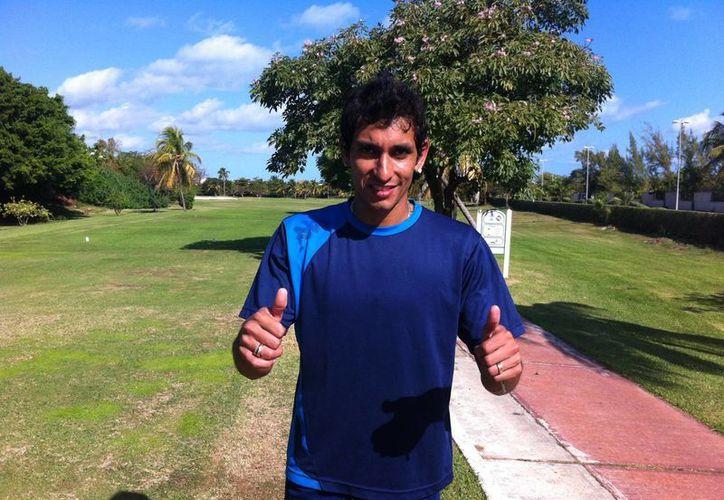 """El """"Chaco"""" Maidana explicó que la fórmula para vencer a Atlas será jugar tal como se le jugó a Monterrey. (Redacción/SIPSE)"""