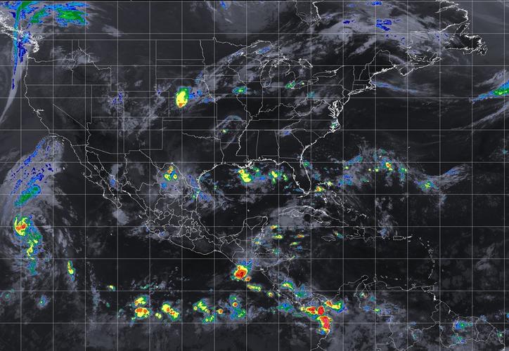 Se esperan lluvias durante la tarde-noche en Chetumal y Cancún. (SMN)