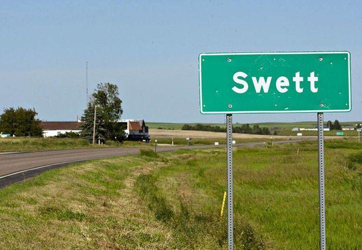 Muchos se habían interesado previamente en adquirir el pequeño poblado de Swett, en Dakota del Sur, pero las ofertas fueron rechazadas por diversos motivos. (AP)