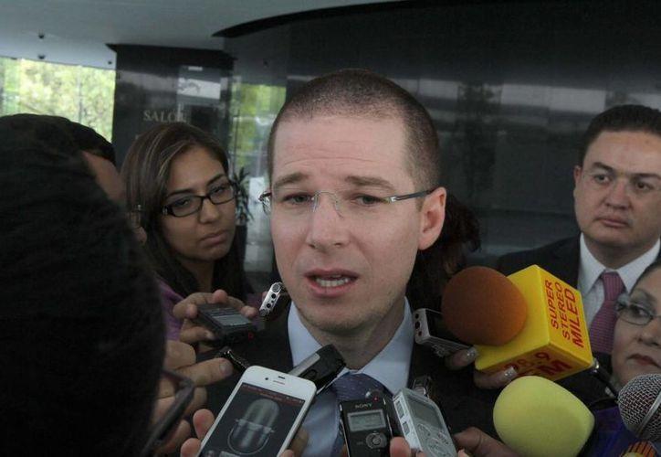 Anaya Cortés afirmó que los diputados respetarán los tiempos legales para reglamentar las reformas aprobadas. (Archivo/Notimex)