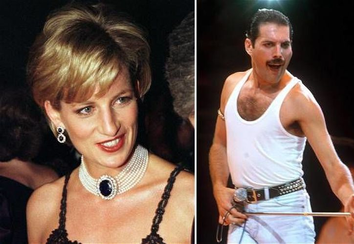 Mercury llevó a la princesa Diana al bar gay en los años 80. (telegraph.co.uk)