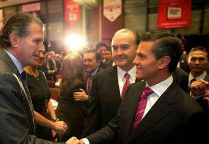 Gabino Antonio Fraga, quien participó en la campaña presidencial de Peña Nieto, fue interrogado sobre una presunta investigación en su contra.  (Héctor Téllez/Milenio)