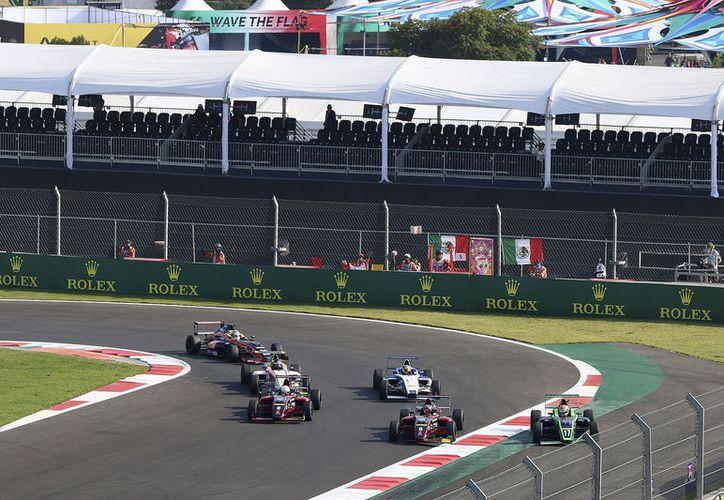 El Gran Premio de México 2018, que se llevará a cabo los días 26, 27 y 28 de octubre en el Autódromo Hermanos Rodríguez. (Foto: FIA Fórmula 4 México)