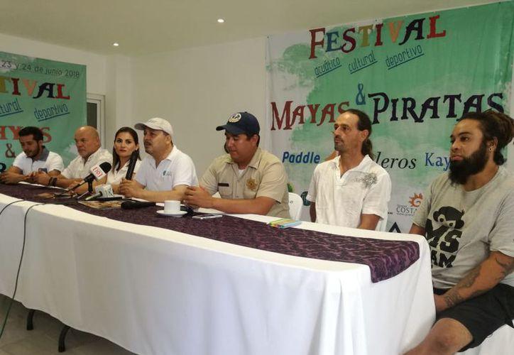 El evento se dio a conocer en una conferencia de prensa. (Joel Zamora/SIPSE)