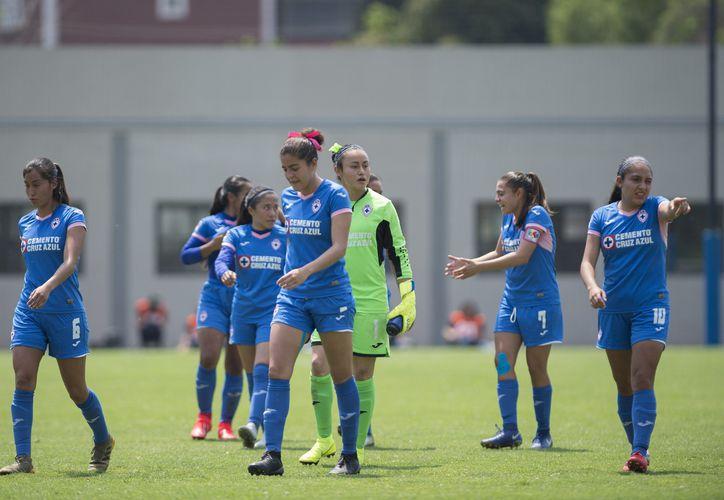 Las azules ya están listas para un nuevo torneo de la liga femenil. (Fotos de Mexsport)