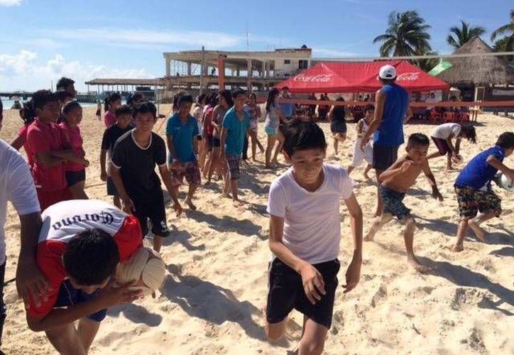 """El programa """"De vuelta al mar"""" se extenderá a dos playas más del municipio. (Daniel Pacheco/SIPSE)"""