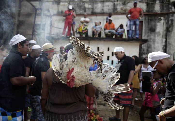 Para agradecer las bondades del viejo año y llamar a la prosperidad en el próximo, santeros y feligreses de las religiones afrocubanas rinden homenaje a Eschu-Elegbara. (Agencias)