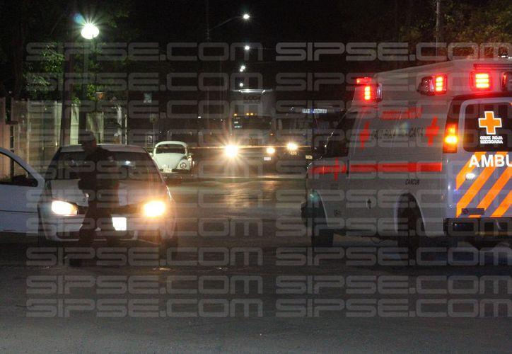 Los atacantes huyeron a bordo de una motocicleta. (Redacción/SIPSE)