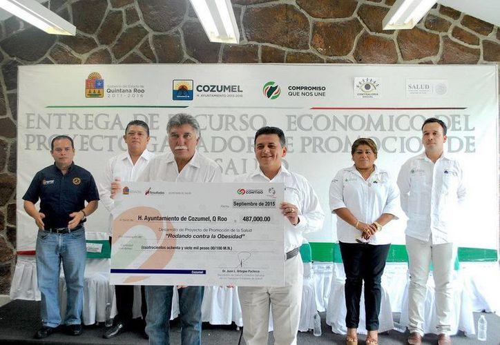 Los programas para promover hábitos alimenticios, de ambos municipios, serán financiados para su elaboración. (Redacción/SIPSE)