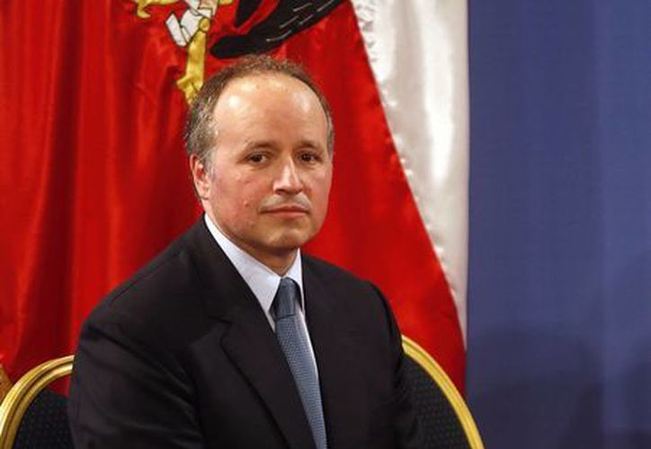 Este es Jorge Insunza, quien renunció al nuevo gabinete presidencial de Michelle Bachelet en Chile, donde trabajaba como  Secretario General de Presidencia. (EFE)