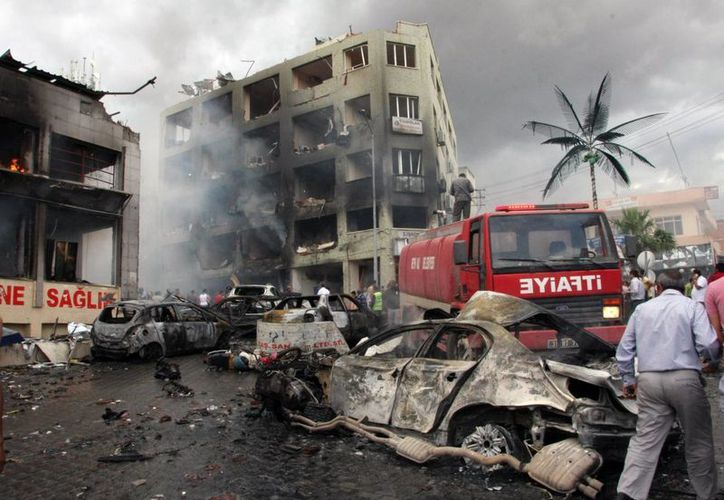 Turquía es responsable de lo sucedido, afirma Siria. (Agencias)